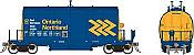 Rapido 143009-5 HO - Long Barrel Ore Hopper - ONR Chevron Scheme #6638