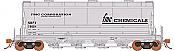 Rapido 133001-3 - HO ACF PD3500 Flexi Flo Hopper - FMC Chemicals SHPX (996H) - In Service 1966 #76005