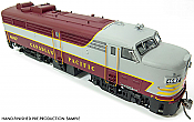 Rapido 21514 HO MLW FA-2, Canadian Pacific CPR – Block  #4045- DCC & Sound