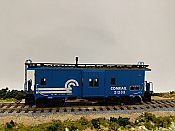Athearn RND90169 HO Scale - Bay Window Caboose - CR #21233