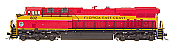 Intermountain 49746S-02 HO ES44AC - ESU LokSound DCC & Sound - Florida East Coast #817