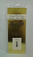 K&S Engineering 251 All Scale - Brass Flat Sheet - 0.010inch x 4inch x 10inch