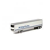 Athearn RTR 17984 - HO 53ft Utility Reefer Trailer - J&R Schugel #91246