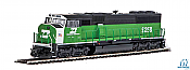 Walthers Mainline 19714 - HO EMD SD60M w/2-Piece Windshield - ESU DCC/Sound - Burlington Northern #9285