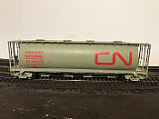 Rapido 127001-6 HO 3800 cu. ft. Canadian Cylindrical Hopper Canadian National (CN Delivery) No.369230