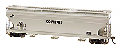Intermountain Railway 47076-05 HO ACF 4650 Cubic Foot 3-Bay Hopper - ConRail CR #886077