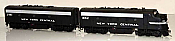 Bowser Executive Line 24071 HO Diesel F7a/b ESU DCC & Lok Sound New York Central #1852 & #3461