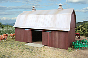 Walther's Cornerstone Rural USA Meadowhead Barn - Kit(Plastic)