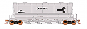 Rapido 133009-2 - HO ACF PD3500 Flexi Flo Hopper - PC/Conrail Scale Test Car Version 3(996H) -inservice 1969 No. CR 80027