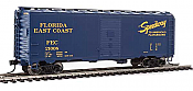 WalthersMainline HO 2715 40 Ft AAR Modified 1937 Boxcar - Ready to Run - Florida East Coast #21008
