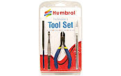 Humbrol 9150 - Modelers Small Tool Set (4/pkg)