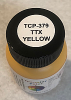 Tru Color Paint 379 - Acrylic -TTX Leasing Yellow 1oz