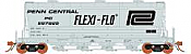 Rapido 133004-6 HO ACF PD3500 Flexi Flo Hopper - Penn Central PC Version 2 Billboard Repaint In Service 1969 No.897892