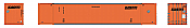 Rapido 402008 HO 53' High-Cube Container - Schneider National (SNLU) 978342 (2-pack) Pre-Order