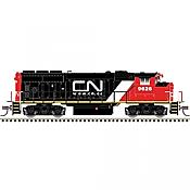 Atlas Model Railroad 40004887 N Scale - GP40-2w Gold DCC/ Sound - Canadian National-URL Scheme #9629