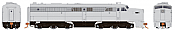Rapido 23097 HO - PA-1 Single Locomotive - DCC Ready - Undecorated (Non-Dynamic Brake)