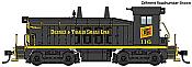 Walthers Mainline 20657 - HO EMD SW7 - DCC & Sound - Detroit & Toledo Shore Line #118