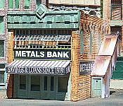Downtown Deco 1051 HO Metals Bank Kit