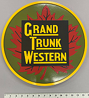 Stoddarts Ltd. GTW - 3D Railroad Wall Artwork - Grand Trunk Western Logo