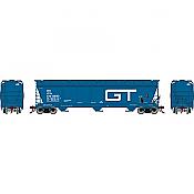 Athearn Genesis G15846 - HO ACF 4600 3-Bay Centerflow Hopper - Grand Trunk #138190