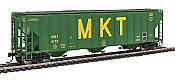 Walthers Proto 106163 - HO 55Ft Evans 4780 Covered Hopper - Missouri Kansas Texas (MKT) #4170