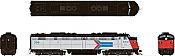 Rapido 28504 HO - EMD E8A (DC/DCC/Sound) Amtrak - Phase 1 #324