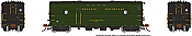 Rapido Trains 107341-1 HO Steam Heater Car Ontario Northland - Green Scheme No.200