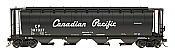 Intermountain 65127-16 N Scale - Cylindrical Covered Hopper - Trough Hatch - Canadian Pacific - Script #387313