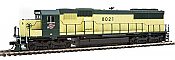 WalthersMainline 19752 HO EMD SD60 Spartan Cab -DCC & Sound -  Chicago & North Western #8021