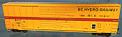 Athearn 27201 HO - 50ft FMC Centered Double Door Box - BC Hydro Railway #642 (#1)