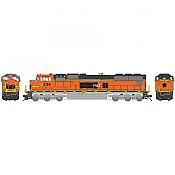 Athearn Genesis G70653 - HO SD75M Diesel, w/DCC & Sound, PRLX ex Warbonnet #236