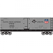 Athearn Roundhouse HO 2203 40ft Steel Reefer PFE/Aluminum #45691