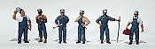 Woodland Scenics 1859 - HO Scenic Accents(R) - Figurines - Train Mechanics (6/pkg)