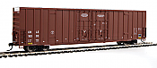 Walthers 2933 Mainline HO 60 Ft High Cube Plate F Boxcar Coe Rail, Inc. CRLE #19495