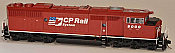 Bowser HO 24353 Canadian Pacific GMD SD40-2F DCC and Sound #9000