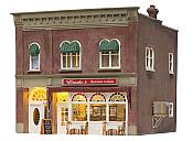Woodland Scenics 5055 HO Emilio's Italian Restaurant - Built-&-Ready(R) Landmark Structures(R)