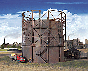 Walther's Cornerstone Empire Gas Works Storage Tank Plastic Kit