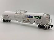 Broadway Limited 6316 - HO Cryogenic Tank Car - Linde (2pkg)
