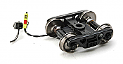 """Ring Engineering EOT-36-G HO Green Enclosure 33"""" Wheels End of Train Device w/Standard Wire Length Assembled (CLONE)"""