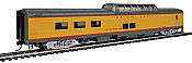 Walthers Proto 18653 - HO 85ft ACF Dome Diner Coach w/lights - Union Pacific (City of Portland) #8008