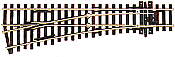 Peco Code 100 SL 92 Streamline Small Radius Turnout Left Hand, Insulfrog HO Scale Track