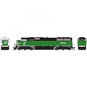 Athearn Genesis G75603 HO - SD60M Diesel Tri-Clops - DCC/Sound - BN #9234