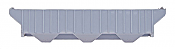 Intermountain Railway Company 40399 HO PS2CD 4750 Cubic Foot 3-Bay Covered Hopper - Undecorated - Kit