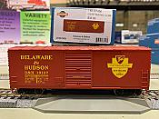 Athearn RTR 67456 HO - 40 Ft Modernized Box - D&H #19127
