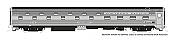 Rapido 141017 - HO Budd Slumbercoach - Chicago, Burlington & Quincy (NP) #336 Loch Awe