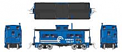 Rapido 144033 - HO Northeastern-style Steel Caboose: Conrail #18693