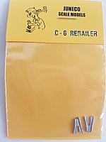 Juneco Scale Models C-6 Rerailers carried by most CN & CP Diesels (2/pkg)