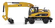 b2b Replicas 85177 Caterpillar M318D Wheel Excavator - Assembled - High Line Series