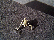 Miniatures By Eric B7 HO Scale parts - Brass CNR F Unit Diesel Bell