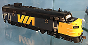 Rapido Trains 222038 - HO GMD FP7 - DCC Ready - DC/Silent - VIA Rail Canada #6550 - New Stock
